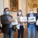 Übergabe Massenpetition im Landtag